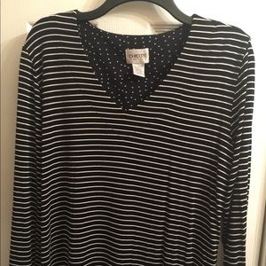 Shirt by Chico's excellent condition